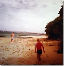 Walking the Beach in Maui with Dad 1975