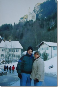 Schloss Neuschwanstein in Bavaria, Germany 2000