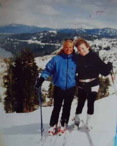 Skiing in Lake Tahoe 1987