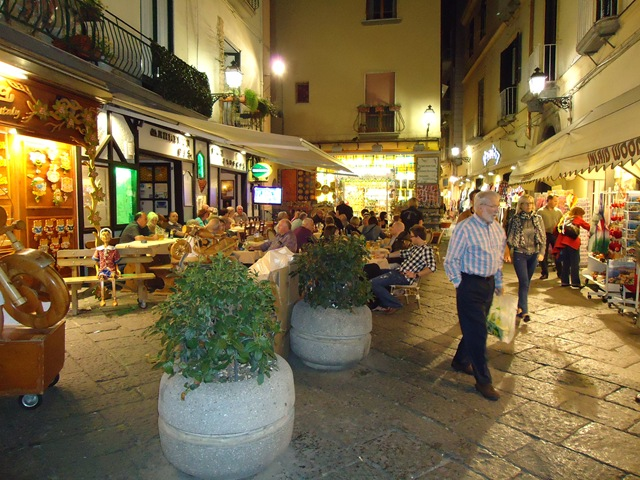 Image result for sorrento piazza at night photos