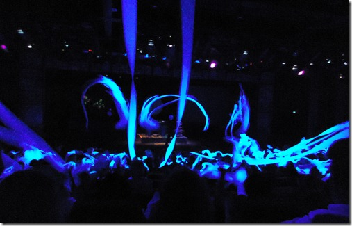 Audience Participation in Blue Man Group Show